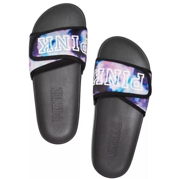 b33d556463d VS Pink Crossover Comfort Slide Sandal M 7 8. Boutique. PINK Victoria s  Secret